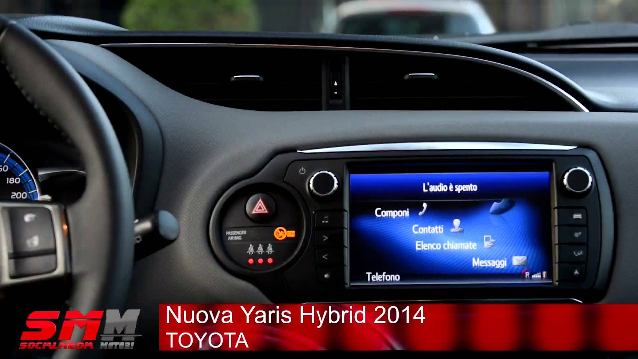 toyota yaris hybrid 2013 video. Black Bedroom Furniture Sets. Home Design Ideas