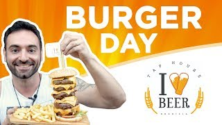 Burger Day Challenge (4.5 pounds)