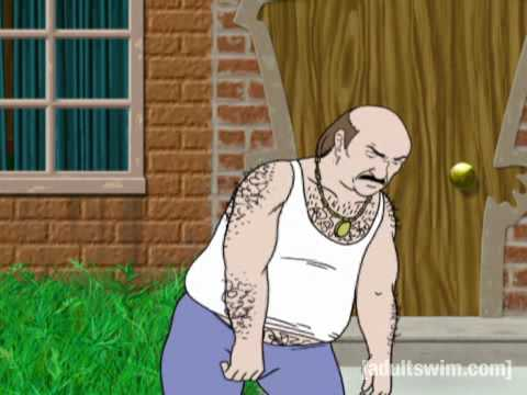 Adult Swim Video Aqua Teen Hunger Force Carl Music Video I'll Be Home This Christmas.flv Video