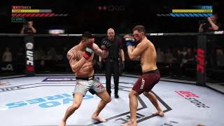 EA Sports UFC 3 - Robert Whittaker (me) vs. Krzysztof Joktko - Knockout Mode (Hard Difficulty)