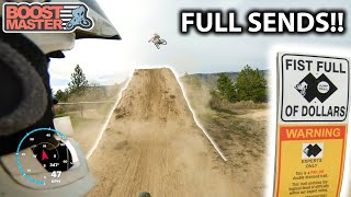 I FINALLY GOT IT!  Full day of Freeride! - I Sent Fist Full of Dollars!! | Jordan Boostmaster