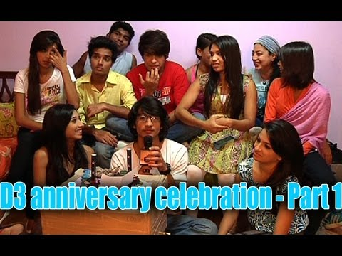 D3 anniversary celebration - Part 1