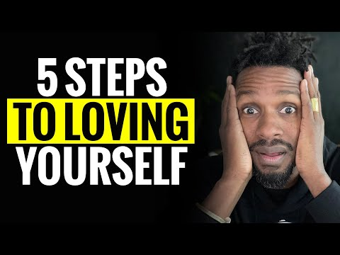 5 Steps to LOVING yourself 100 %
