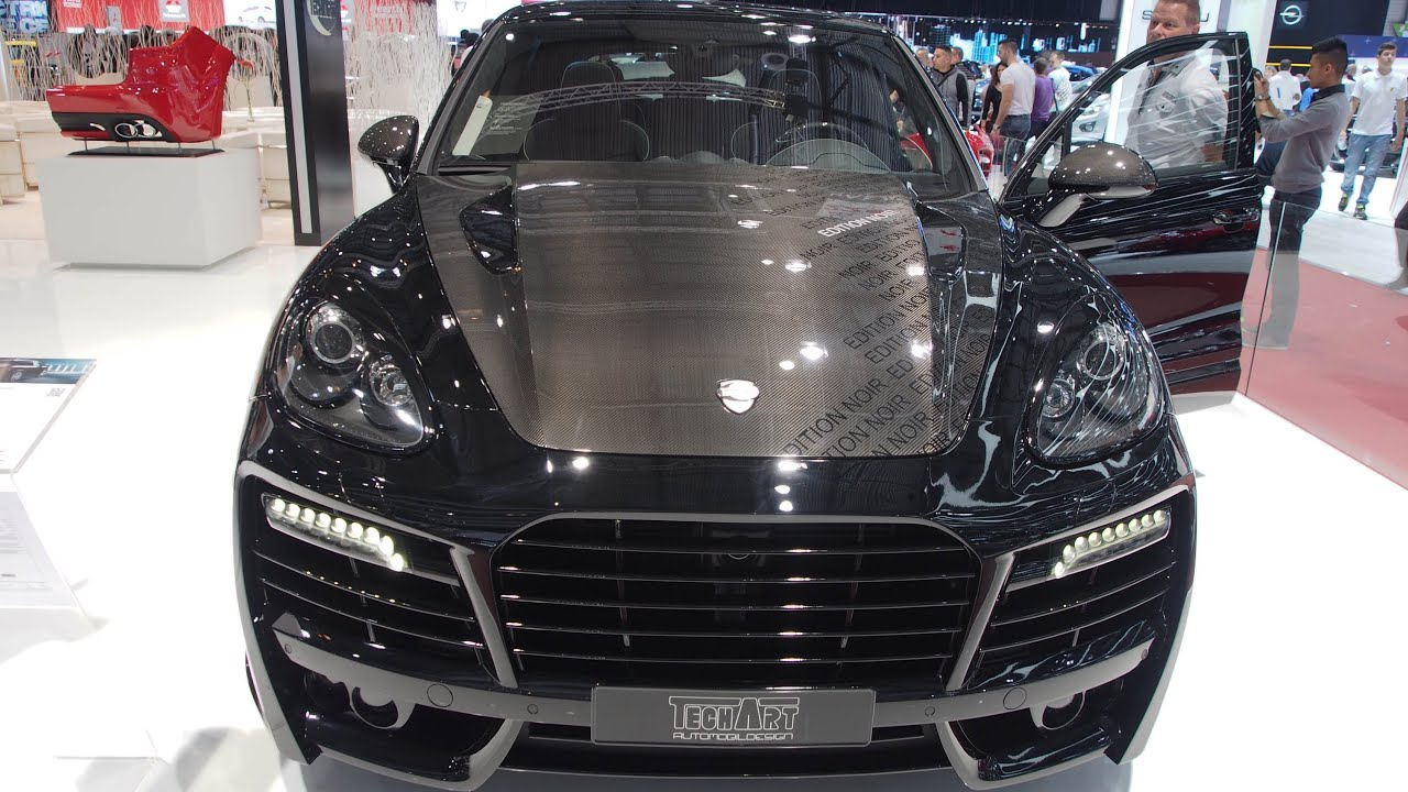 Techart magnum edition noir based on porsche cayenne turbo youtube