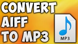 How To Convert AIFF TO MP3 Online - Best AIFF TO MP3 Converter [BEGINNER