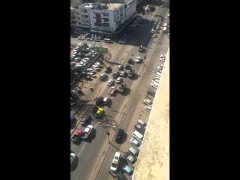 Blindados com metralhadoras em Maputo