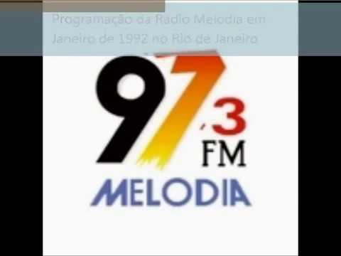 Programação Da Radio Melodia em Janeiro de 1992 no Rio de Janeiro.wmv