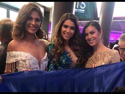 Bellezas nicaragüenses causan sensación en Miss Universo 2017