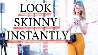 7 Ways to look SKINNY in CLOTHES | *FASHION HACKS*