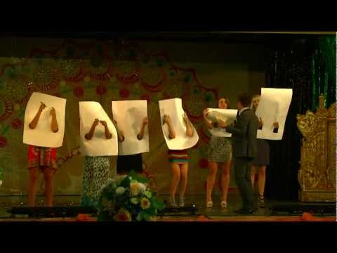 мега веселый конкурс на свадьбу Сам себе художник.