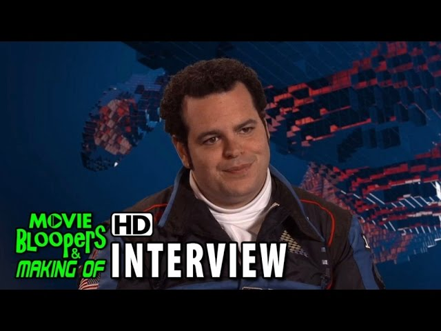 Pixels (2015) Behind the Scenes Movie Interview - Josh Gad is 'Ludlow'