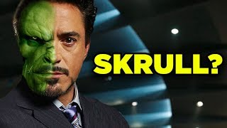 Avengers Theory! Iron Man Tony Stark SKRULL IN DISGUISE? #SkrullSearch