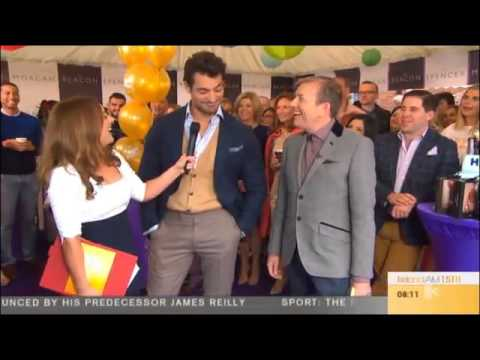 David Gandy on Ireland: AM TV3 (19/09/2014)