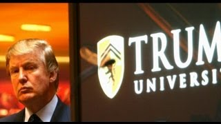Real Estate Tycoon Donald Trump Fights Phony University Claim 8/26/13