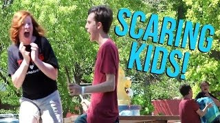 Scaring the Poop out of Kids