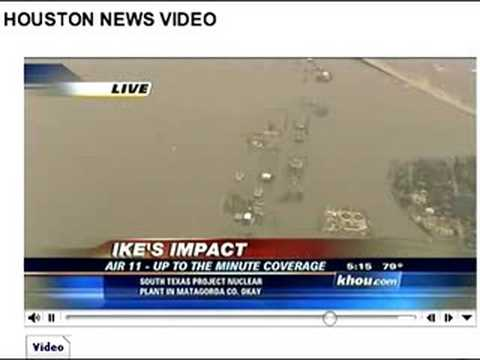 Hurricane Ike Damage to Kemah, TX