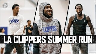 Inside the Clippers' Summer Runs Featuring Lou, Pat, Trezz, and More