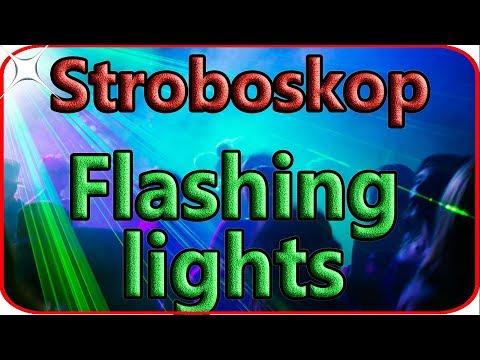 How to make disco lights at home easy. Diy Stroboskop lights