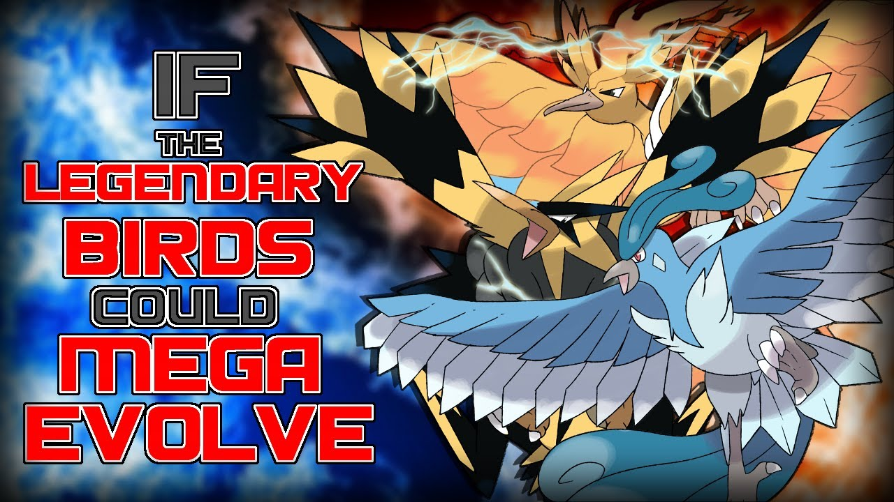 If the Legendary Bird Trio could Mega-Evolve! - YouTube