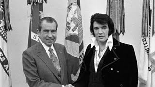 The story behind elvis presley's meeting with richard nixon in the oval