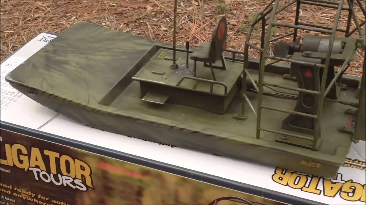 GI JOE COBRA RC Airboat... Before and After - YouTube