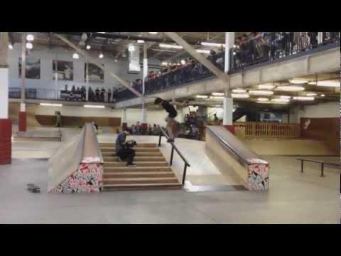 Zero Demo at Vans Skatepark iphone 4s