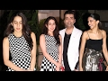 Saif Ali Khan's Daughter Sara Ali Khan's First Public Video With Karan Johar & Deepika Padukone