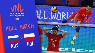 Russia v Poland - Full Match - Final Round Pool B | Men's VNL 2018