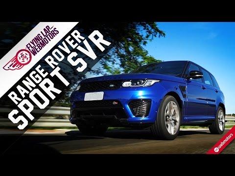 Land Rover Range Rover Sport SVR - Flying Lap Webmotors #4 #1