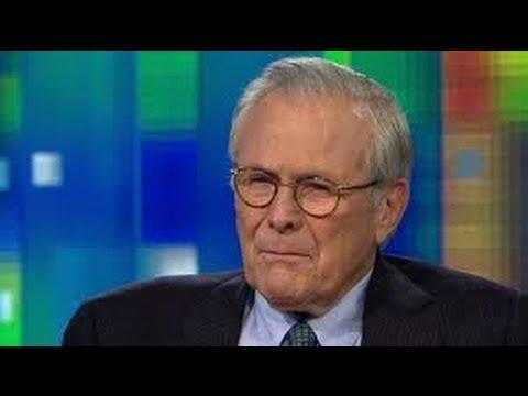 Donald Rumsfeld Won't Go Away