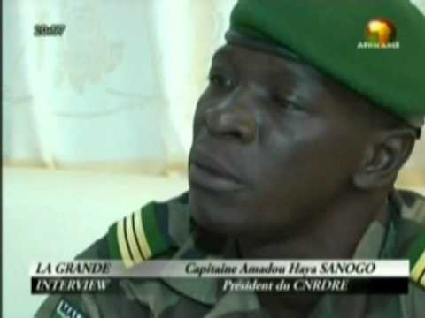 Grande interview du Capitaine Amadou Sanogo sur Africable