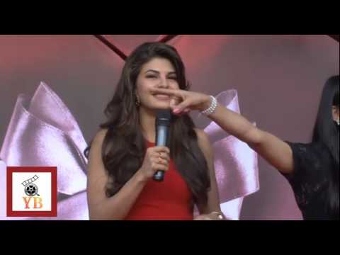 Mujhe To Teri Lat Lag Gai Song Performance By Jacquline At New The Body Shop Store 1 video