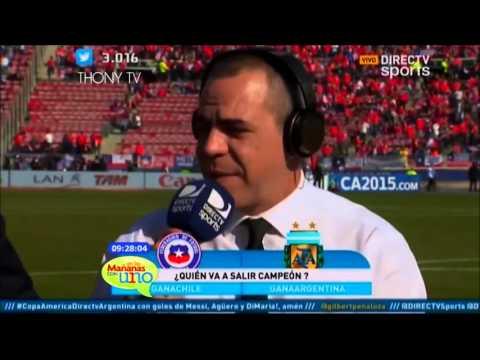 El mundo del deporte en la voz del argentino Pablo Giralt