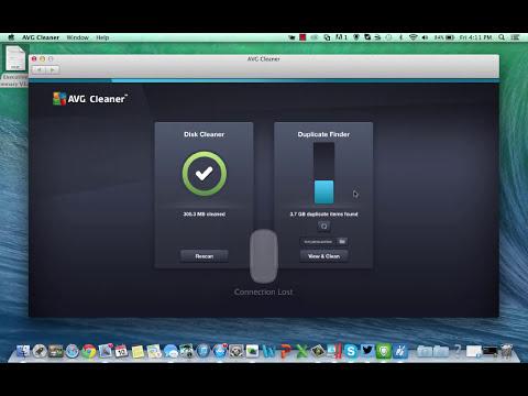 AVG's Tony Anscombe Provides a Walkthrough of AVG Cleaner for Mac
