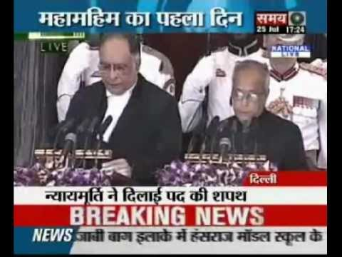 Pranab Mukherjee sworn in as 13th President of India