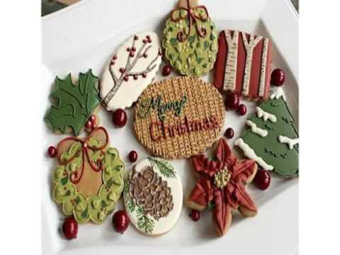Dekorieren weihnachtsplätzchen