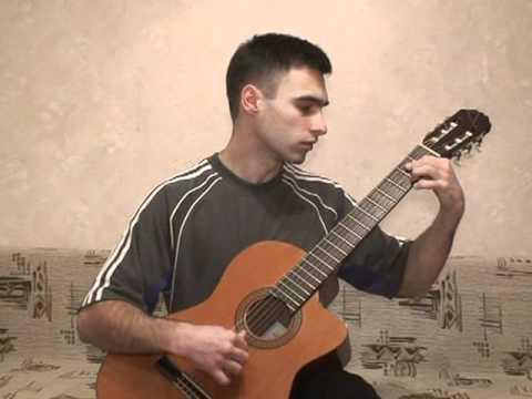 0 Aerosmith Crazy (classical guitar cover)