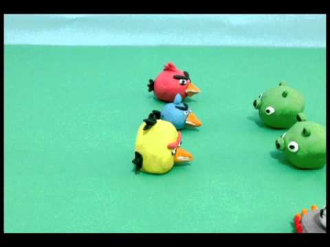 Angry Birds (Stop Motion Animation)