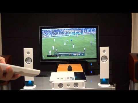 Home theater Sony simula 4K e intensifica grito de torcida em partidas de futebol