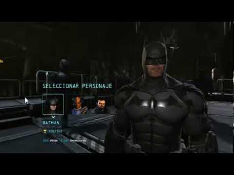 Batman Arkham Origins: Todos los Skins - YouTube