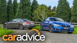 BMW 428i v Audi A5 2.0T Quattro Coupe Review