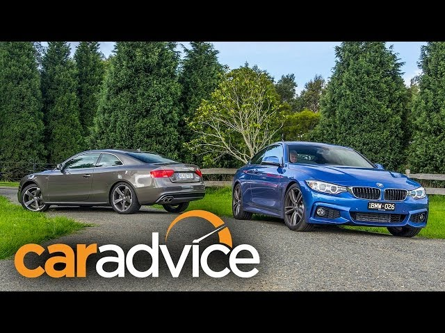 BMW 428i v Audi A5 2.0T Quattro Coupe Review - YouTube