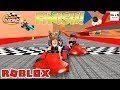 ГОНКИ МИП СИТИ В РОБЛОКС MEEP CITY RACING BETA ROBLOX ПО РУССКИ mp3