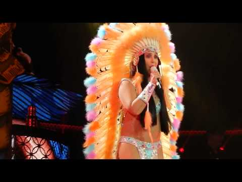 Cher In San Diego 2014: Half Breed (by Adriano) video
