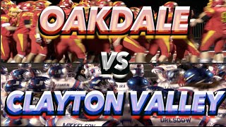 Clayton Valley vs Oakdale : CIF Northern Cali Div II Championship: UTR Highlight Mix 2014