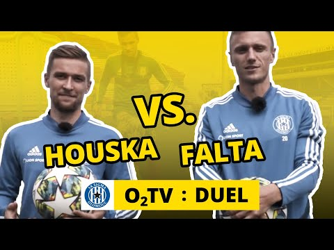 O2 TV Duel: David Houska a Šimon Falta žonglují na čas