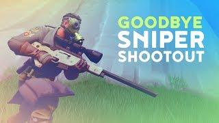 GOODBYE SNIPER SHOOTOUT! (Fortnite Battle Royale)