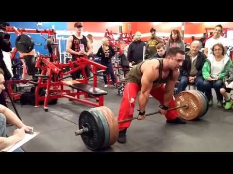 GREG DOUCETTE IFBB PRO -GUINESS WORLD RECORD HEAVIEST SUMO DEADLIFT IN ONE MINUTE