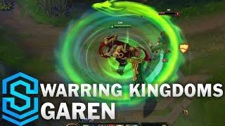 Warring Kingdoms Garen Skin Spotlight - Pre-Release - League of Legends