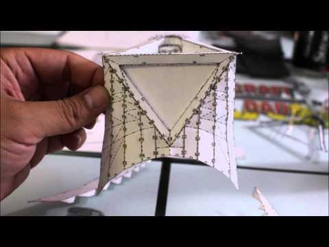 Darth Vader Helmet Part 1 (Pepakura Cut-out) - Craft Dad
